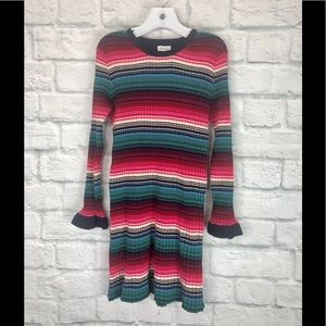 Gymboree Girls Dress Long Sleeve Stripes Size S